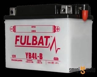 Akumulator Fulbat YB4L-B (kwas dołączony) + kaucja 30 zł