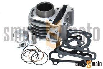 Cylinder Kit Novascoot, 50cc, d.39mm, Peugeot 50cc 4T 2V, sworzeń 10mm (bez głowicy)