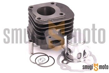 Cylinder SMG HQ 50cc, Minarelli leżące AC 10mm (tłok Meteor, bez głowicy)