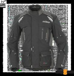 Kurtka motocyklowa BUSE Highland czarno-szara (rózne rozmiary)