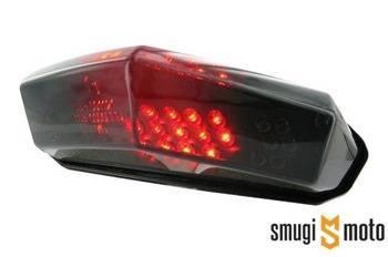Lampa STR8 Black Line LED z kierunkowskazami, Aprilia RX, SX / CPI SX, SM / Derbi DRD, Senda, SM (E)