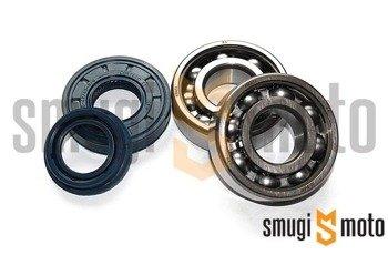 Łożyska wału i uszczelniacze SMG Racing Metal, Minarelli (Koyo + Corteco)