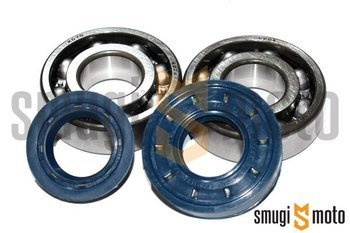 Łożyska wału i uszczelniacze SMG Sport, Minarelli (Koyo)