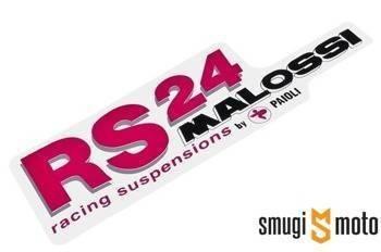 Naklejka Malossi RS24 143x45mm