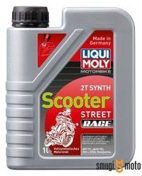 Olej Liqui Moly Synth Scooter Race 2T, 1 litr (100% syntetyk)