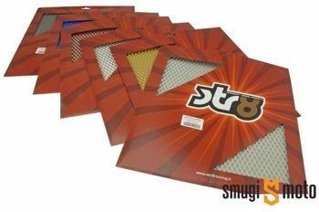 Siatka aluminiowa STR8, średnie otwory, 30x30cm (różne kolory)