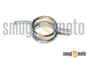 Sprężynka dźwigni hamulca, prawa (srebrna), Gilera / Piaggio