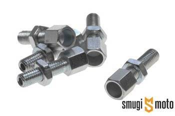 Śruba regulacyjna linki gazu / sprzęgła M8, 8mm
