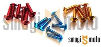 Śruby owiewki Vicma, M6x20, 6 szt. (różne kolory)