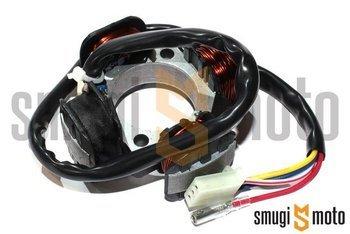 Stator / stojan / zapłon Mokix, d.79mm, 4 przewody, Suzuki AC (Morini AC z zapłonem IDM)