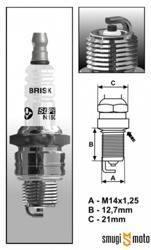 Świeca zapłonowa Brisk BR8HS