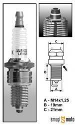Świeca zapłonowa Brisk Multi-Spark BR10E