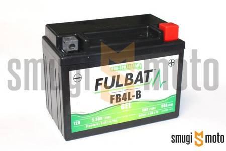 Akumulator żelowy Fulbat YB4L-B + kaucja 30 zł za stary akumulator