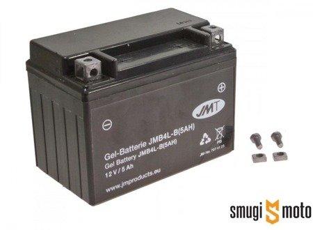 Akumulator żelowy JMT YB4L-B 5A (CB4L-B (5AH)) + kaucja za stary akumulator