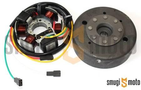 Alternator kompletny (stator + magneto), Minarelli AM / Derbi