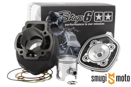 Cylinder Kit Stage6 Streetrace 70cc, Gilera / Piaggio LC