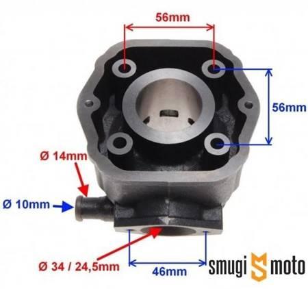 Cylinder WM 50cc, Derbi 50, EBS / EBE