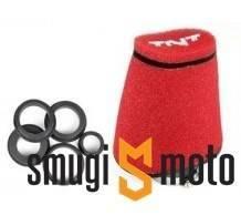 Filtr powietrza TNT BIG gąbkowy, prosty 28-55mm, Uniwersalny (różne kolory)