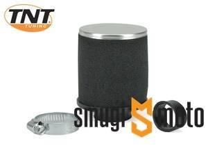 Filtr powietrza TNT gąbkowy, czarny, prosty 28-35mm