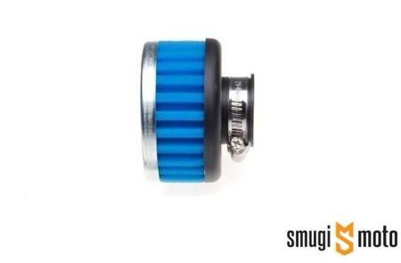 Filtr powietrza tuning krótki 32mm, niebieska gąbka, bez osłony