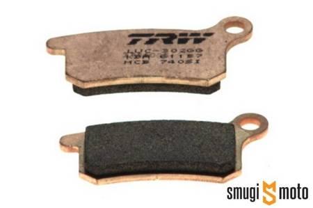 Klocki hamulcowe TRW (Lucas) M95, spiek metaliczny Sinter Offroad KTM SX65/85