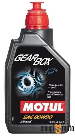 Olej przekładniowy Motul Gearbox 80W90 1L
