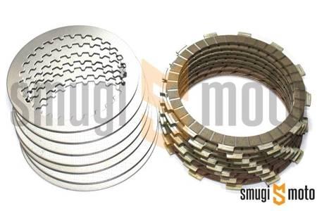 Tarcze sprzęgłowe z przekładkami Newfren, Suzuki RM 125 '92-01 (EBS3401R)